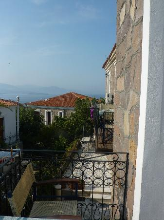 Molyvos Queen Apartments View From One Of The Balconys