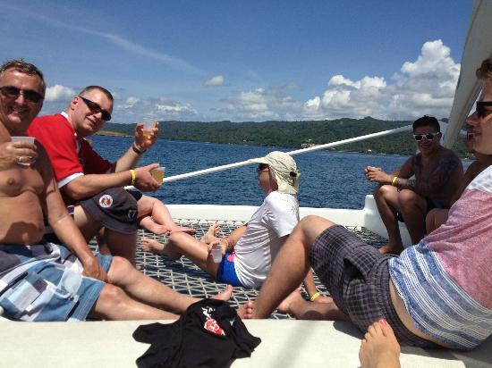 Grand Bahia Principe El Portillo: Boat trip - 100% relaxing and drinking rum