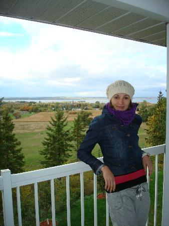 Hillview Haven B&B: Rice Lake view