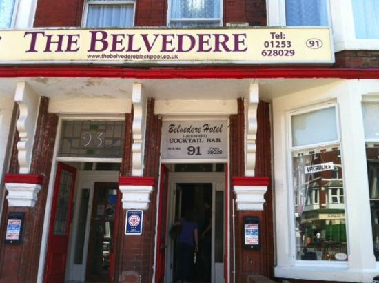 The Belvedere: Bottom window smashed