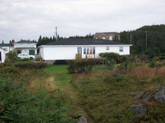 Paradise B&B: Best back yard in Newfoundland