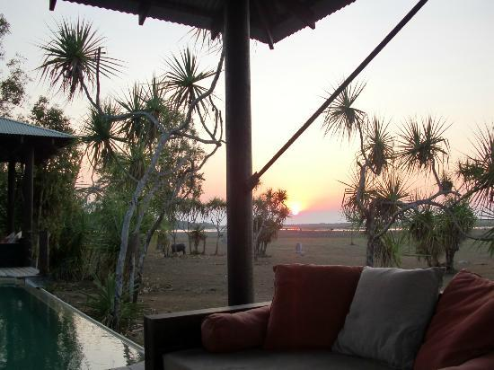 Bamurru Plains: zona piscina