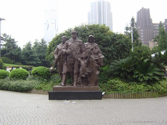 Shanghai Renmin Park: 像