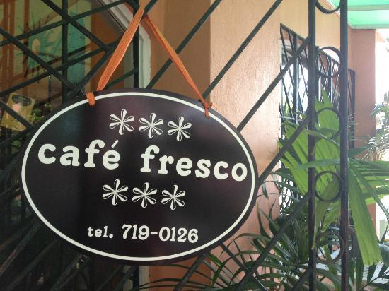 Cafe Fresco: Store front