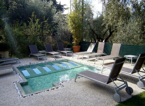 Hotel Meridiana: The little pool - it's a spa, not a swimming pool