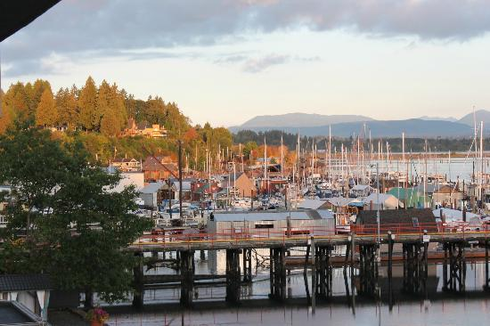 Oceanfront Suites at Cowichan Bay: Another shot from our room window