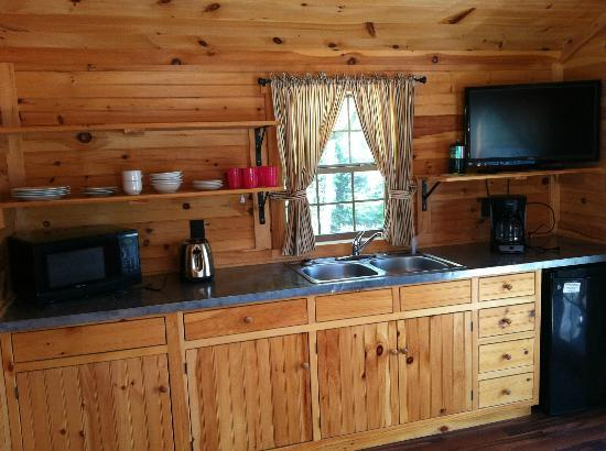Twin Grove RV Resort & Cottages: The kitchen