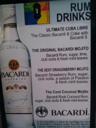 Bacardi Rock Coconut Rum