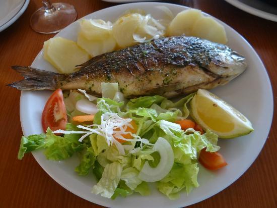 Restaurante Atlantic : Seabass