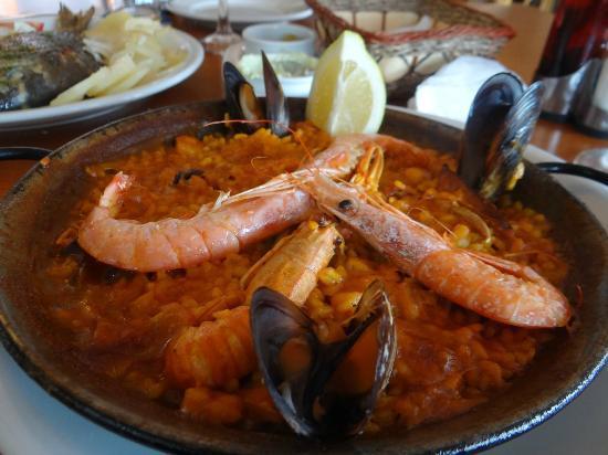 Restaurante Atlantic : Seafood Paella