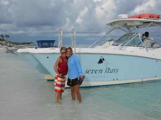 Seven Stars Resort: Worth every penny for the Seven Stars excursion - the capt & Rodney are an absolute hoot! A MUS