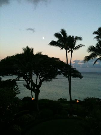 The Kuleana Resort: Sunset from the foom