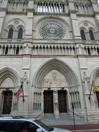Cathedral Basilica of the Assumption: The outside