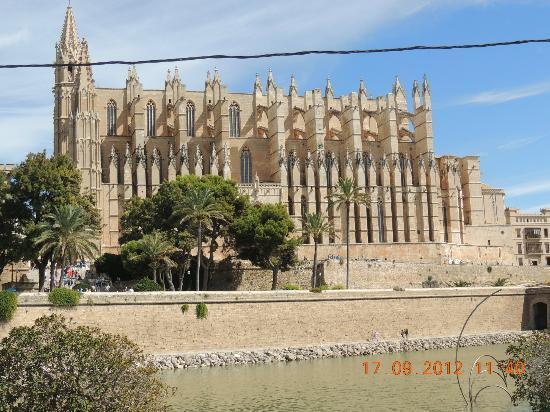 Placa Major: Palma Cathederal Majorca