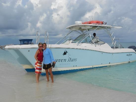 Seven Stars Resort & Spa: MUST do Boat excursion - Capt & Rodney are amazing!