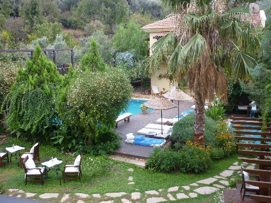 Mandarin Boutique Hotel: The gardens and pool