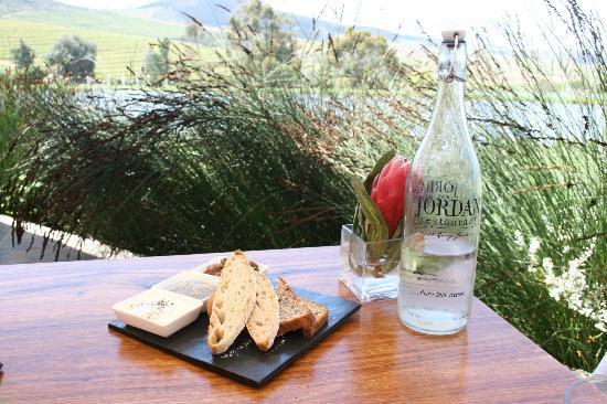 The Jordan Restaurant: Jordan Terrace View