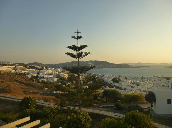 Alkyon Hotel: View of Mykonos Town