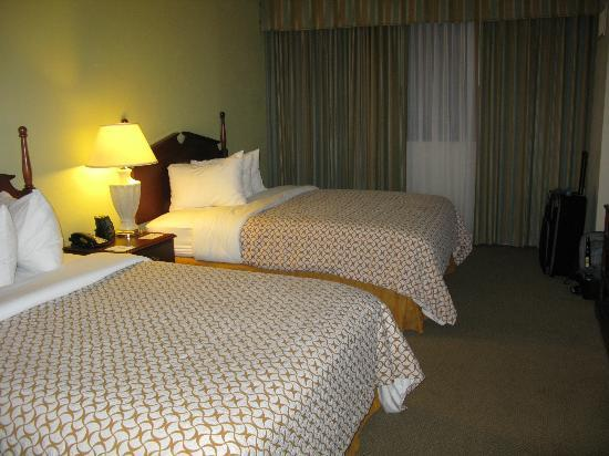 Embassy Suites by Hilton Tampa - Airport/Westshore: The bedroom in our suite