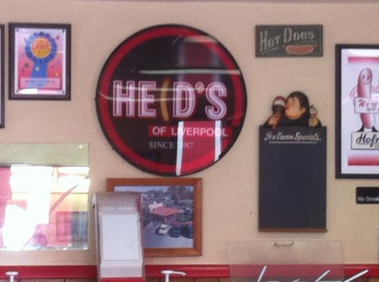 Heid's of Liverpool: inside the restaurant