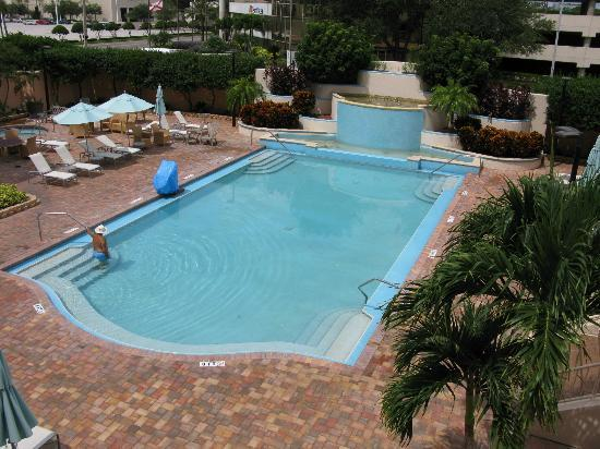 Embassy Suites by Hilton Tampa - Airport/Westshore : The outdoor pool