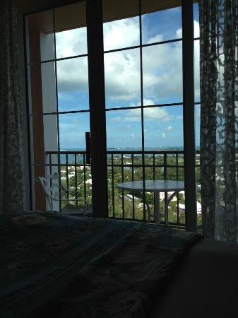 Fairmont Southampton: Beautiful view from first room