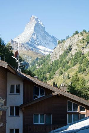 Hotel Firefly : view of the Klein Matterhorn