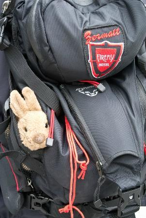 Hotel Firefly : a rucksack