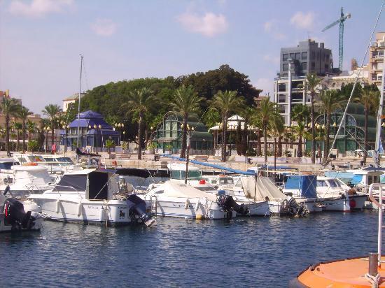 Playa de Los Nietos: Cartagena Harbour
