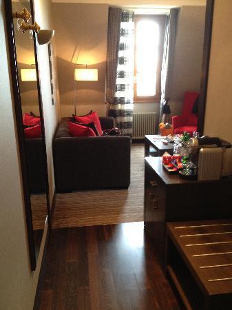 Hotel Metropole Geneve: Junior Suite Entry