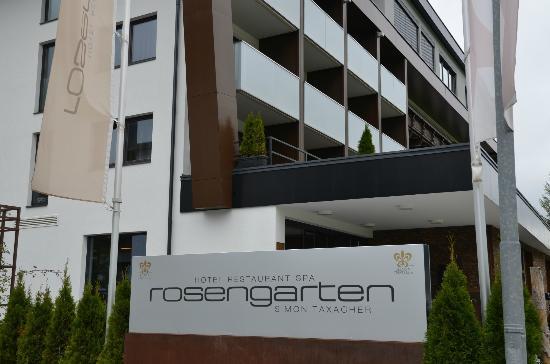 Hotel Restaurant Spa Rosengarten: Accueil