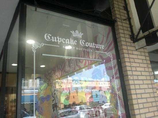 Cupcake Couture Sweet Boutique: L'insegna