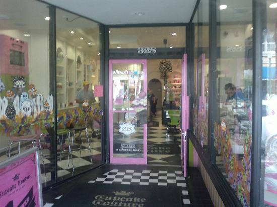 Cupcake Couture Sweet Boutique: L'ingresso