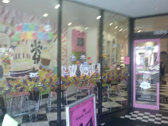 Cupcake Couture Sweet Boutique: Una vetrina