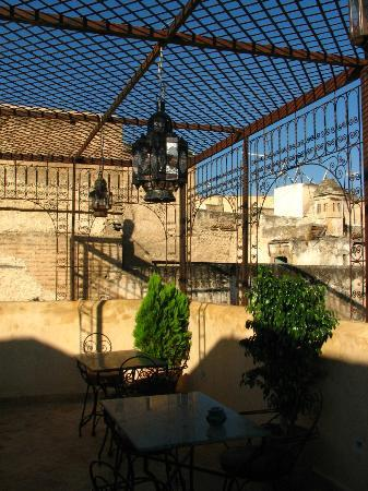 Dar Othmane: vista dalla terrazza