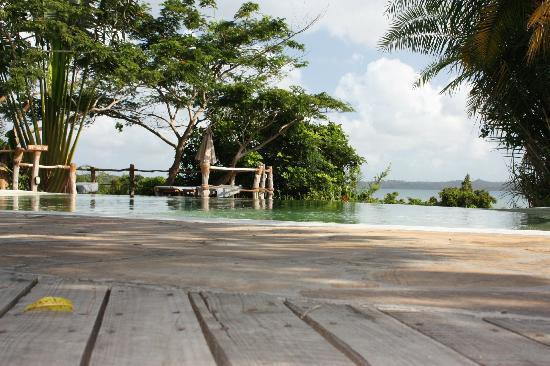 Fundu Lagoon: Infinity pool