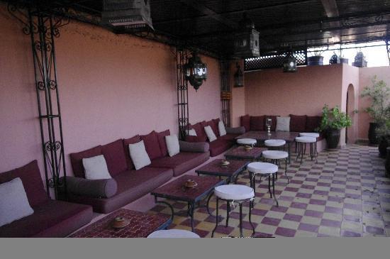 Dar Rmane: terrasse