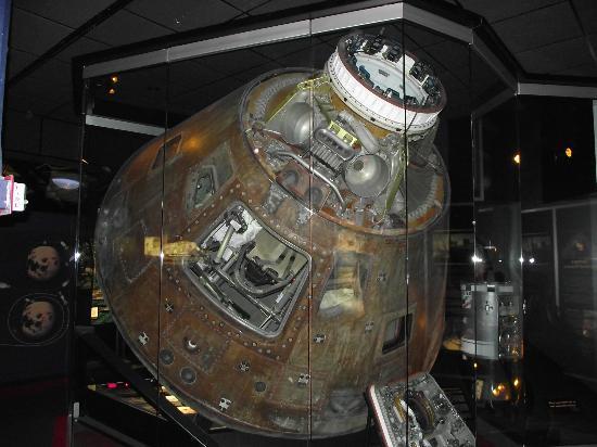 Apollo 13 Capsule - Picture of Cosmosphere, Hutchinson ...