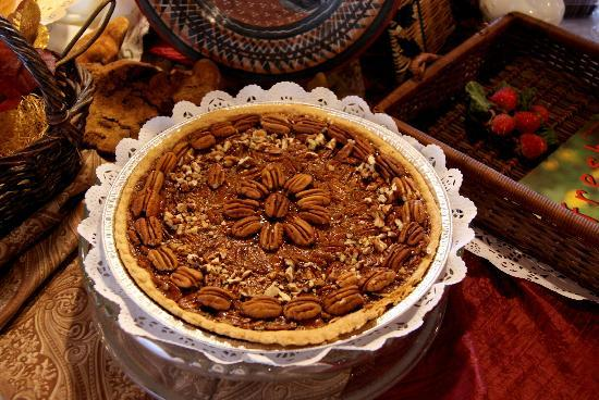The Pecan Pie at Mountain Pie and Cake Company tastes as good as it looks!