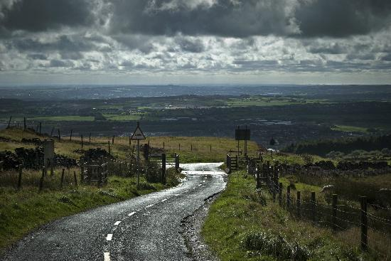Bolton, UK: The view from Winter Hill