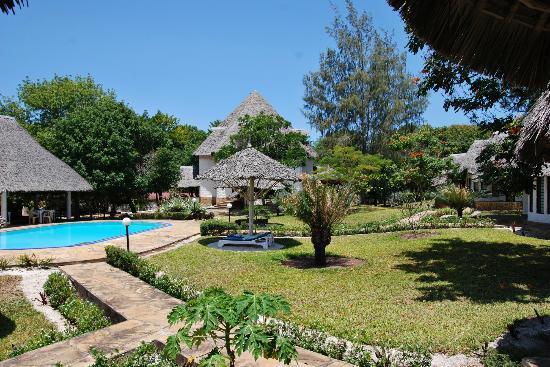Kinondo Poa: traumhafte Gartenanlage