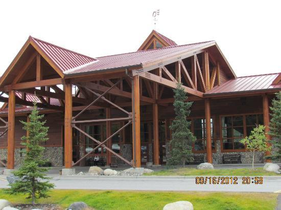 Denali Princess Wilderness Lodge: Main entrance to lodge complex