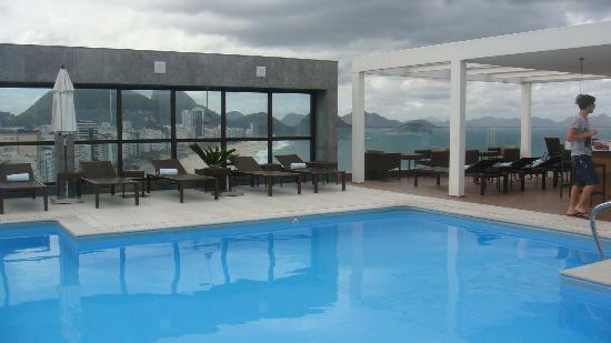Pestana Rio Atlântica Hotel: Pileta terraza