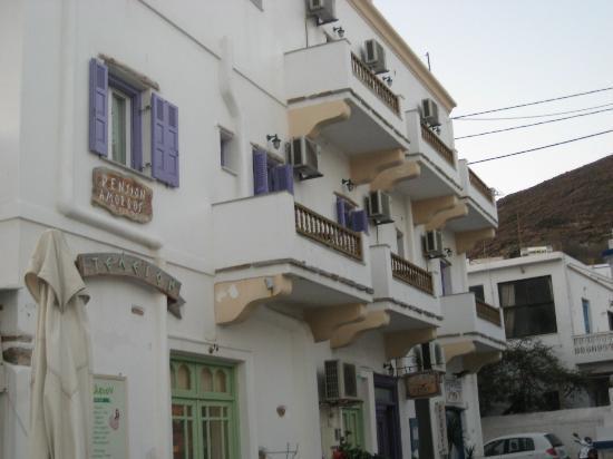 Amorgos Studios: Außenanblick