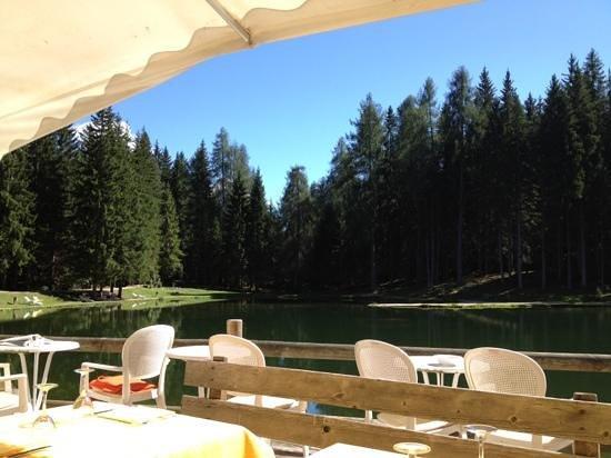 Ristorante Lago Pianozes: terrazza