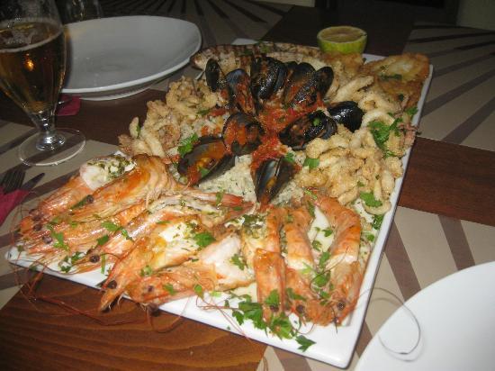 King Prawn : Seafood Platter