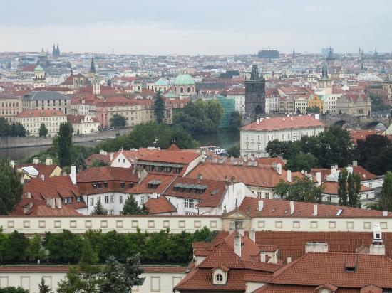 Four Seasons Hotel Prague: View of the hotel from Prague castle