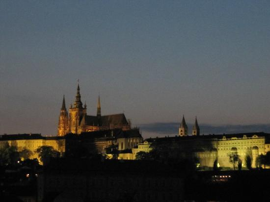 Four Seasons Hotel Prague: Night view from CottoCrudo