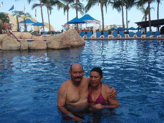 Barcelo Puerto Vallarta: disfrutando en pareja.