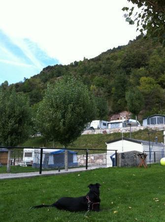 Hotel Camping Bielsa : parcelas